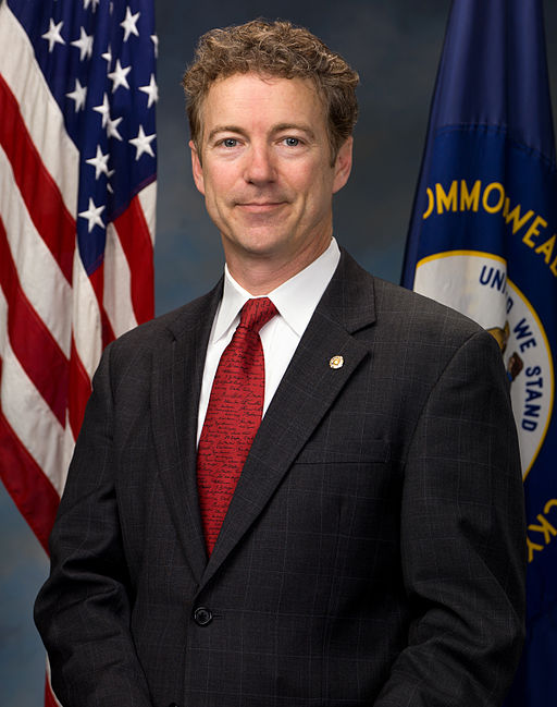 Public domain (US government work). Source http://commons.wikimedia.org/wiki/File:Rand_Paul,_official_portrait,_112th_Congress_alternate.jpg